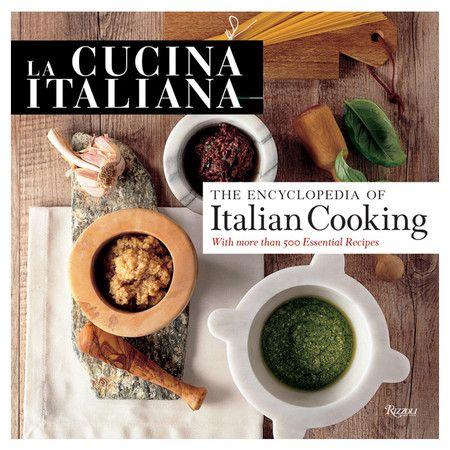 La Cucina Italiana Cookbook.