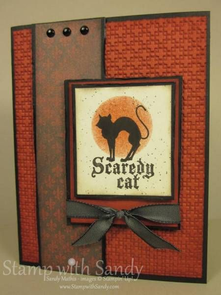 scaredy cat stampin up - Stampin Up Halloween Ideas