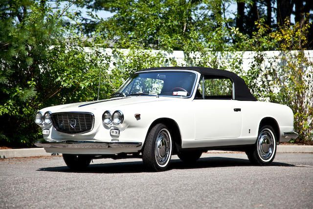 1964 lancia flavia convertible with hardtop 39 60s cars pinterest auction 39 salem 39 s lot and. Black Bedroom Furniture Sets. Home Design Ideas