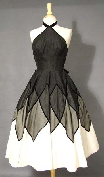 Vintage White Cocktail Dresses