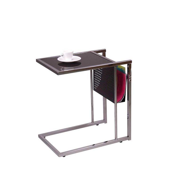 Beistelltisch mit Schwarzglas Stahl Jetzt bestellen unter: https://moebel.ladendirekt.de/wohnzimmer/tische/beistelltische/?uid=136b3a43-cca2-513a-9aa6-0cf8365ec1c8&utm_source=pinterest&utm_medium=pin&utm_campaign=boards #telefontisch #tischgestell #sofa #wohnzimmertisch #beistelltisch #anstelltisch #glas #beistelltische #tische #telefonregal #beistelltischchen #telefonkonsole #beitisch #vollholzdo #tisch #telefontischchen #glastisch #wohnzimmer