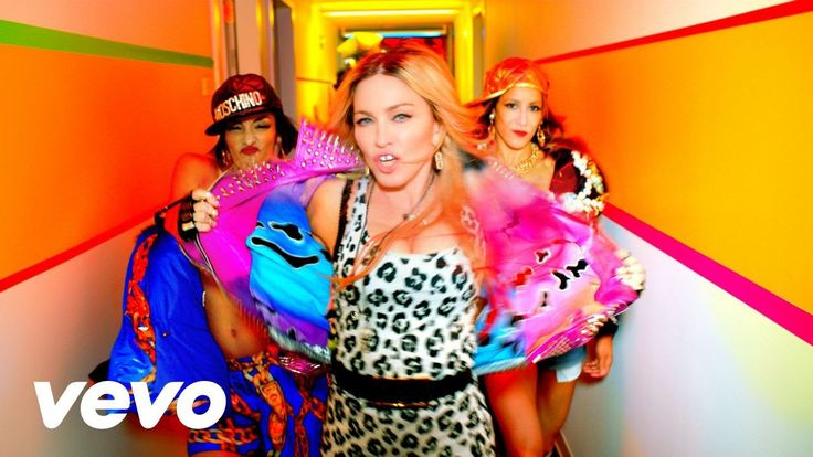 Madonna - Bitch I'm Madonna ft. Nicki Minaj #zookeepers #brother