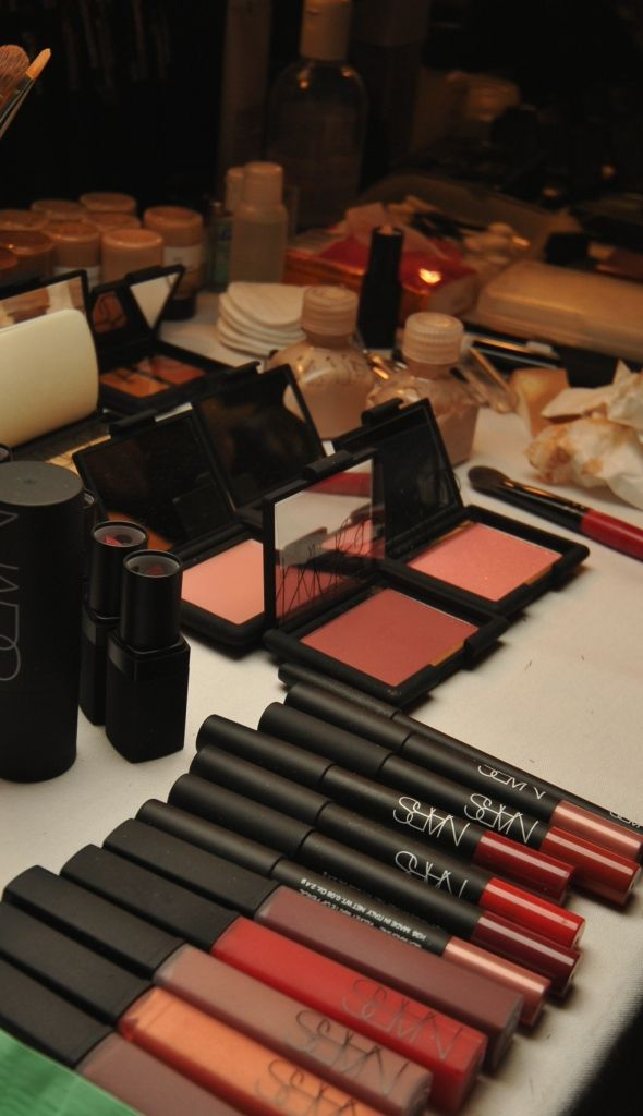 Nars products backstage at Marc Jacobs  Credit: Nars PR
