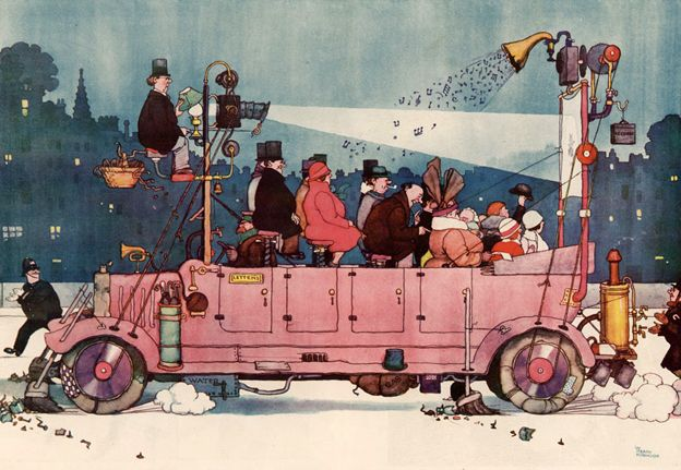 Kinecar by Heath Robinson