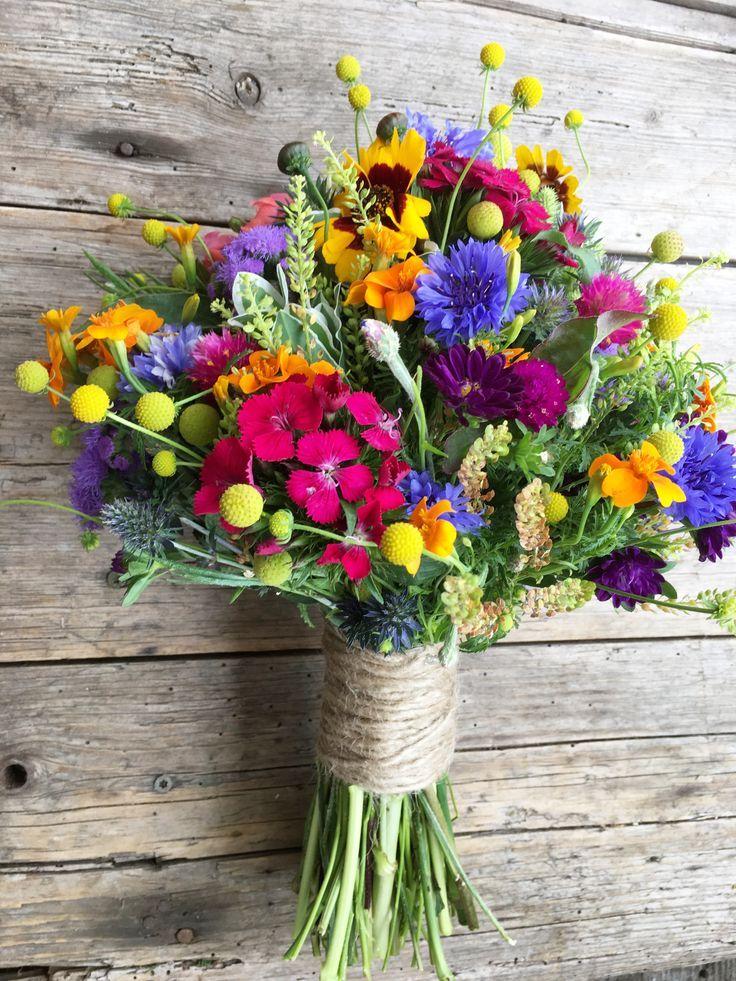 Картинки красивый букет из полевых цветов фото