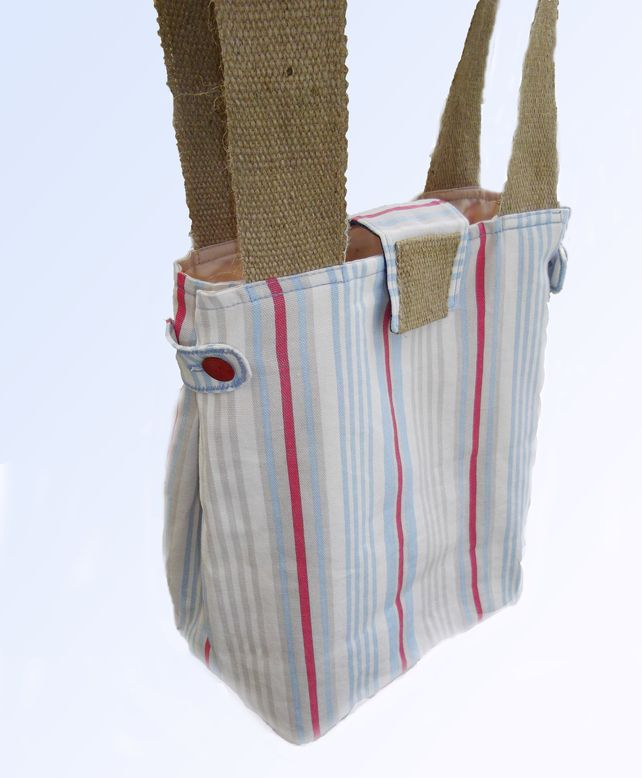 Striped Tote bag £12.00