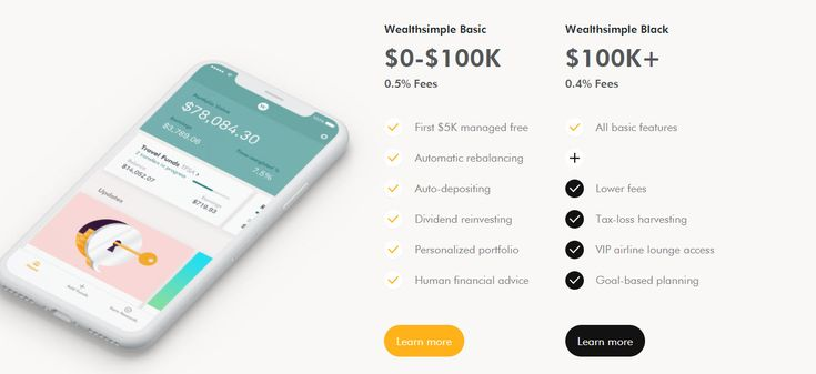 Wealthsimple Black and The Wealthsimple High Interest Savings Account