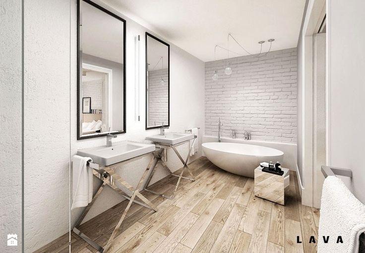 Łazienka styl Skandynawski - zdjęcie od LAVA Projektowanie Wnętrz - Łazienka - Styl Skandynawski - LAVA Projektowanie Wnętrz