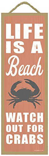 Check out our list of 16 Fun Crab Beach Accents For Your House.  If you have a coastal beach home, crab decor and crab decorations are very popular nowadays.
