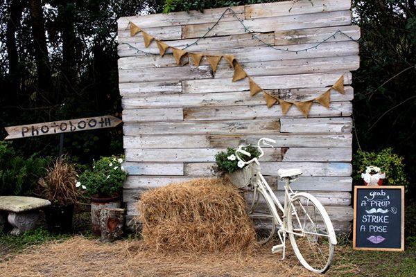 "Inspirate con esta idea para decorar tu boda de estilo ""shabby chic"" #boda #decoracion"