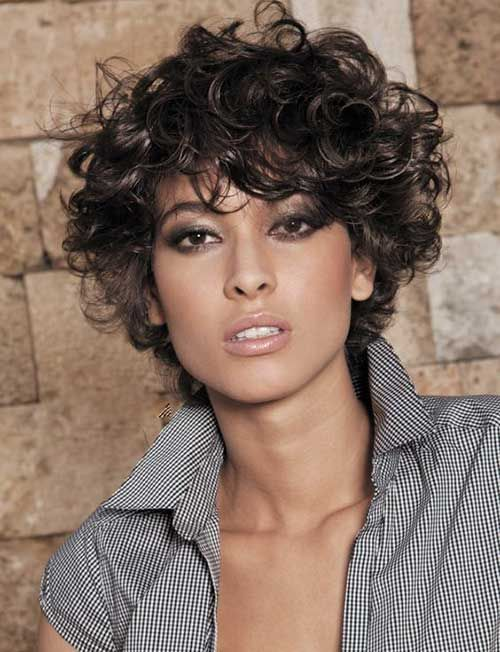 14.Hairstyle for Short Hair with Bangs