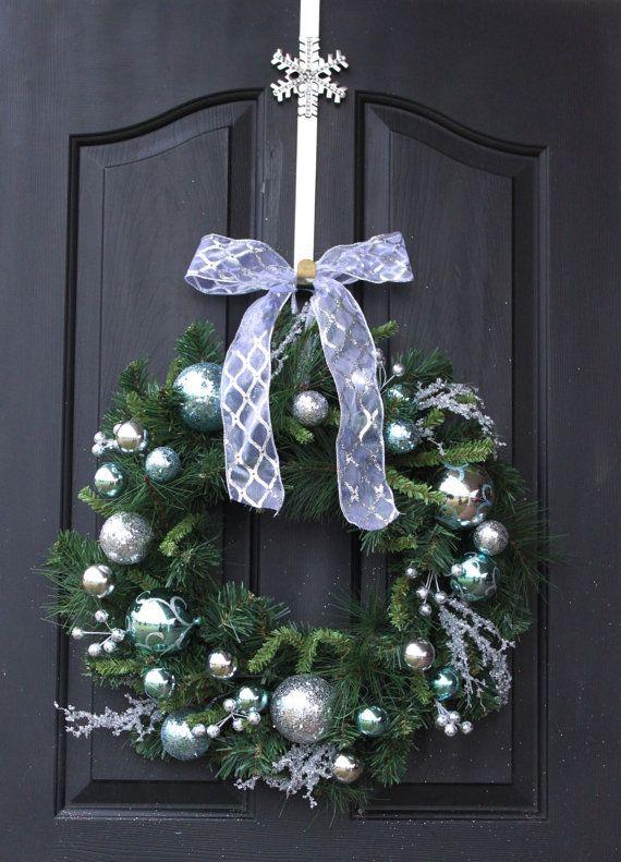 Coronas de Navidad guirnalda - guirnalda para Navidad - guirnalda de Etsy…