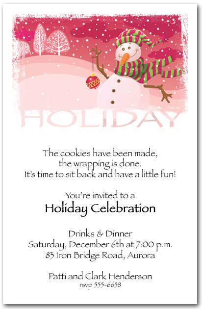 89 best Christmas and Holiday Invitations images on Pinterest