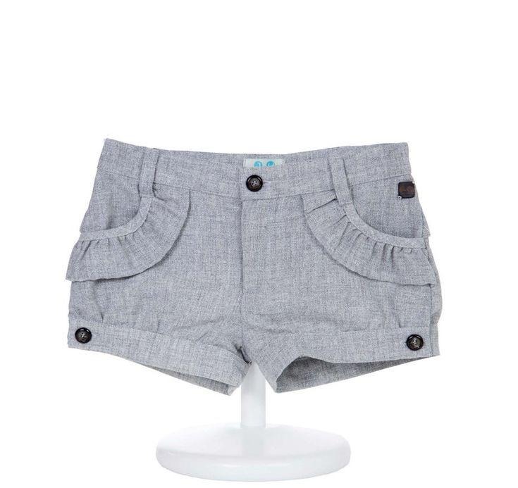 Pantalón corto niña - demelocoton.com