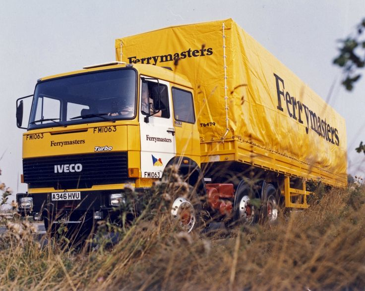 Ferrymasters Iveco turbo