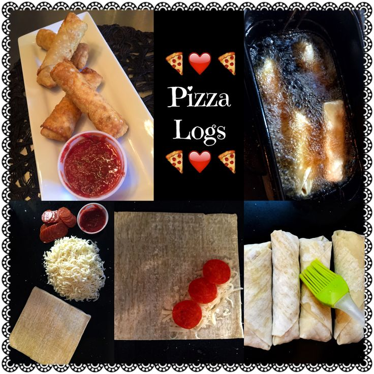 Pizza Logs