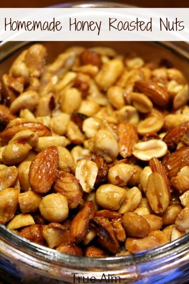How to make honey roasted nuts at home - I am definitely making these!!!!