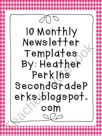 Best Classroom Newsletters Images On   Classroom Ideas