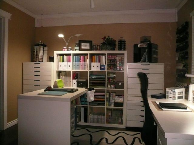 Craft Room Desk: 25+ Best Ideas About Ikea Craft Room On Pinterest