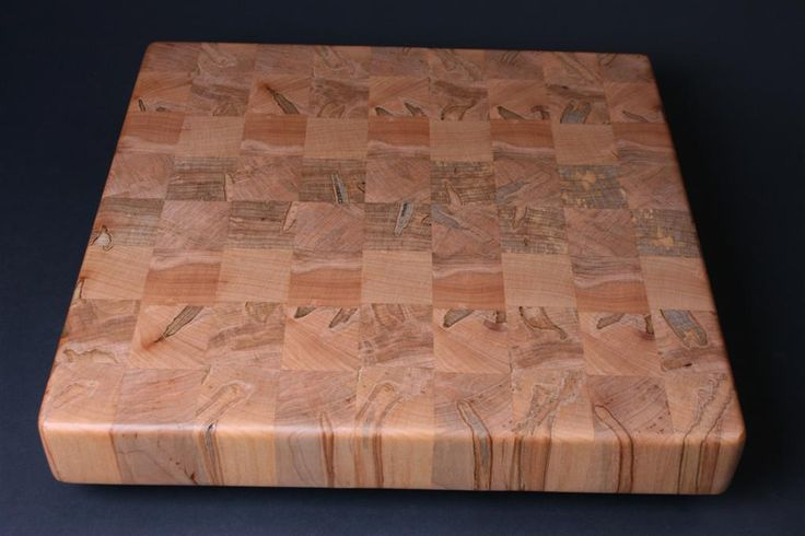 7 ambrosia maple end grain cutting board sold. Black Bedroom Furniture Sets. Home Design Ideas