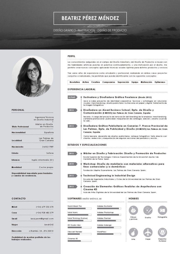 CV Beatriz Pérez Méndez  CV 2015 Beatriz Pérez Méndez