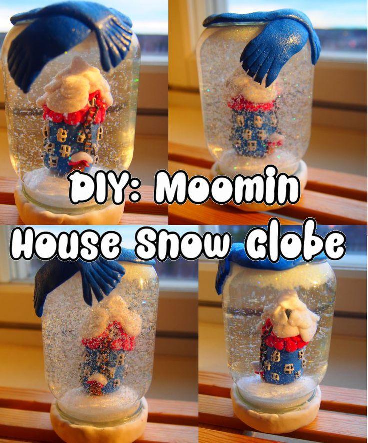 DIY: Moomin House Snow Globe