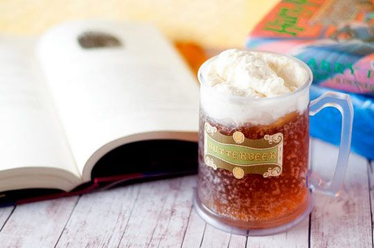 Yummm!Beer Recipes, Butterbeer Recipe, Birthday Parties, Harry Potter Parties, Roots Beer, Harrypotter, Butter Beer, Homemade Butterbeer, Harry Potter Recipes