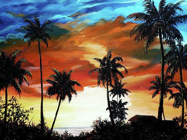 Caribbean Sunset By Karin Dawn Kelshall Best
