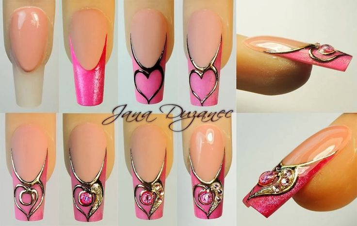 The 70 best liquid stone nail art images on Pinterest | Nail arts ...