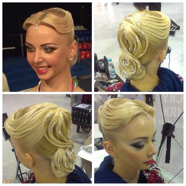 ballroom Ballroom Dancing Hairstyles, Ballroom Hairstyles, Hair Styles ...