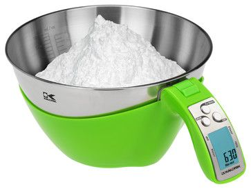 Kalorik Lime-Green iSense Food Scale - modern - Kitchen Scales - Kalorik