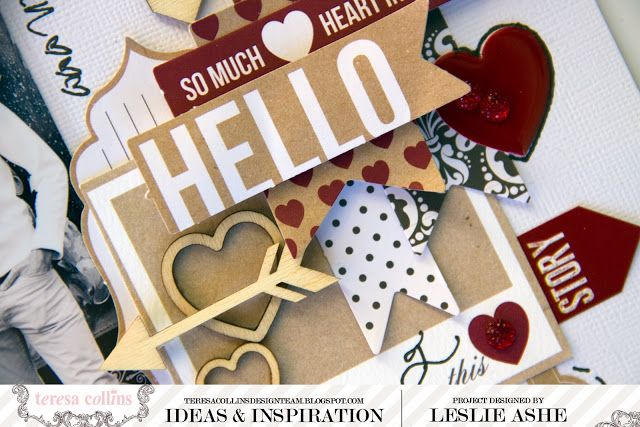 "TERESA COLLINS DESIGN TEAM: Hello My Name Is ""Lucky"" - A Hello My Name Is layout by Leslie Ashe @Leslie Ashe"