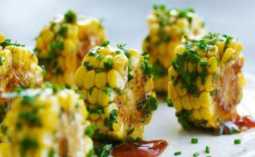 Chilistegte majskolber - opskrift på lækkert tilbehør