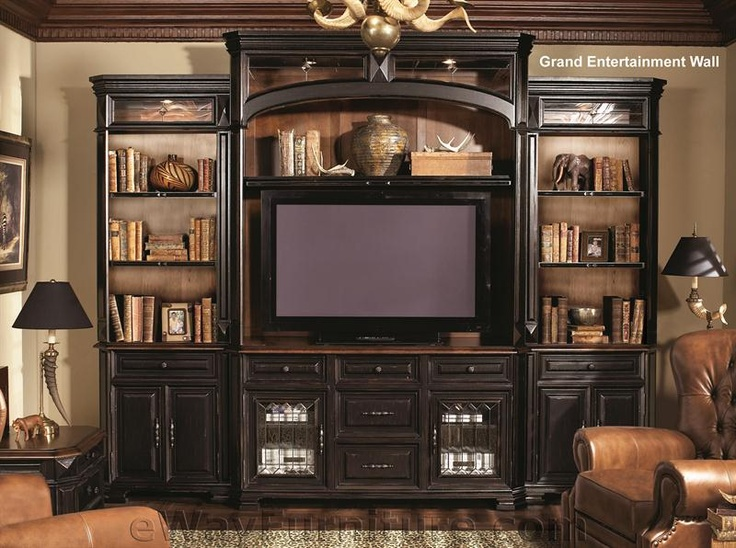 One Of Our Most Popular Wall Units This Grand Entertainment Helps Fill Those Large Homes In The Washington DC Area