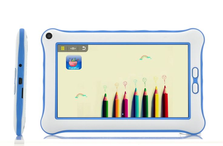 "Tablet 7"" Blue, parental controls, child friendly, powerful, Assistive Style $125"