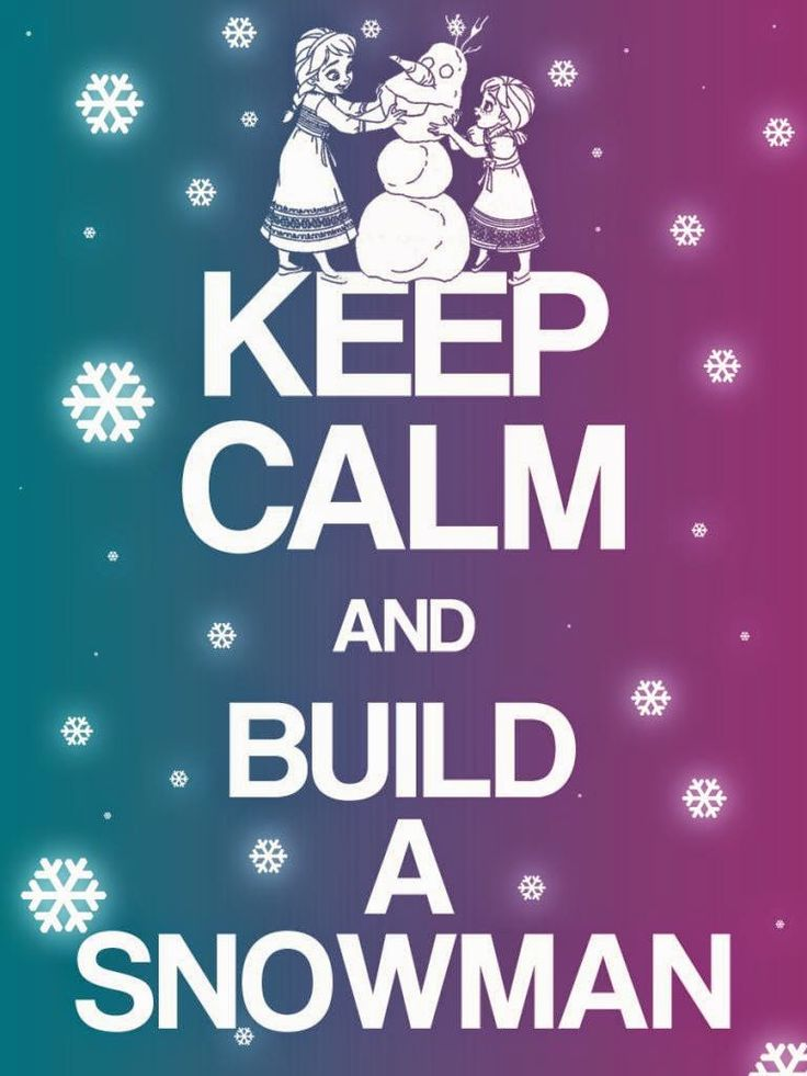 Frozen: Keep Calm Free Printable Signs.