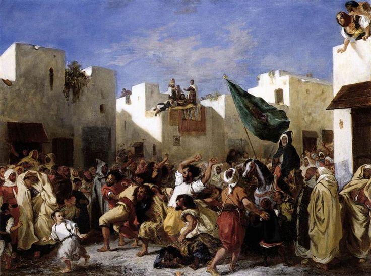 """""""Fanatics of Tangier"""" - Eugene Delacroix"""