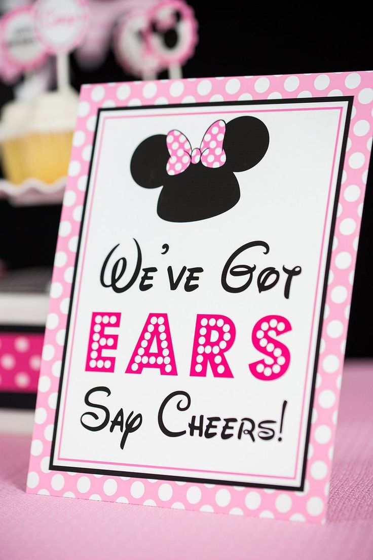 We Ve Got Ears Say Cheers Sign Instant Download Minnie Etsy In 2021 Minnie Mouse Birthday Party Decorations Minnie Mouse Birthday Decorations Minnie Mouse Birthday Theme