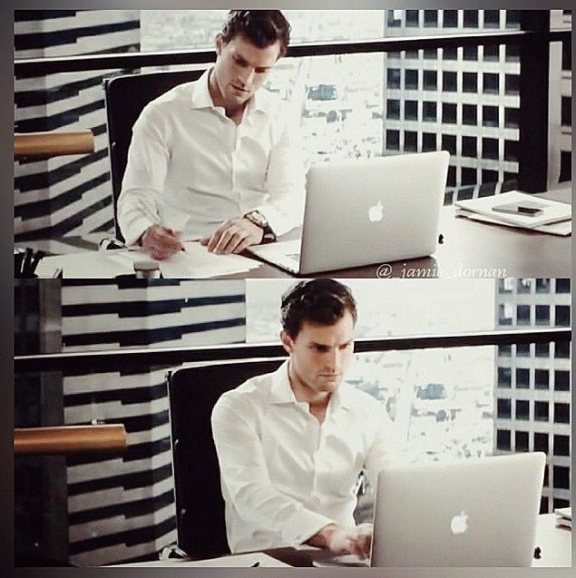 Fifty shades of grey christian grey working…