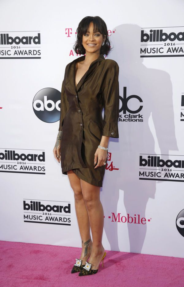 Thierry Mugler Rihanna Manolo Blahnik. Foto: Reuters