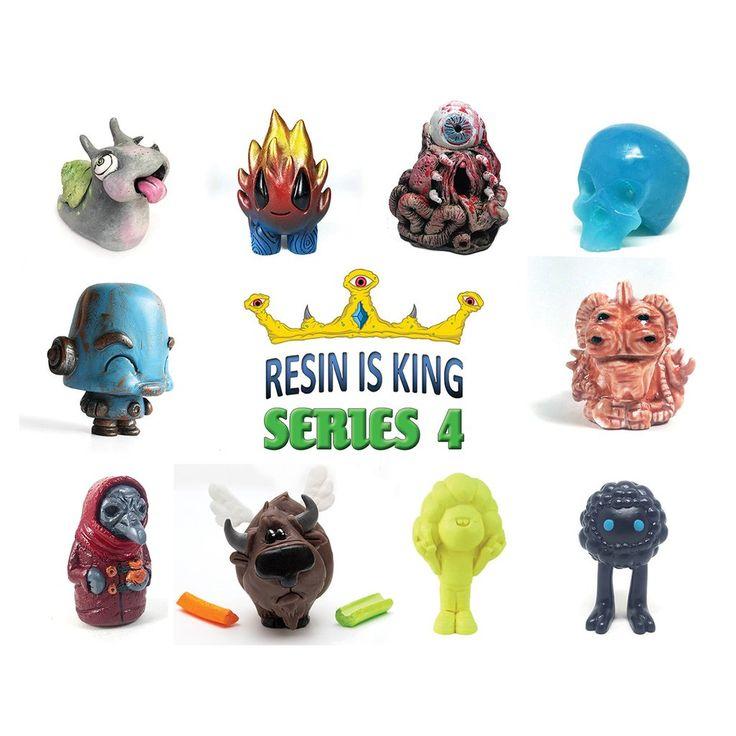 Resin Is King Series 4 Blind Box Mystery Figure Resin