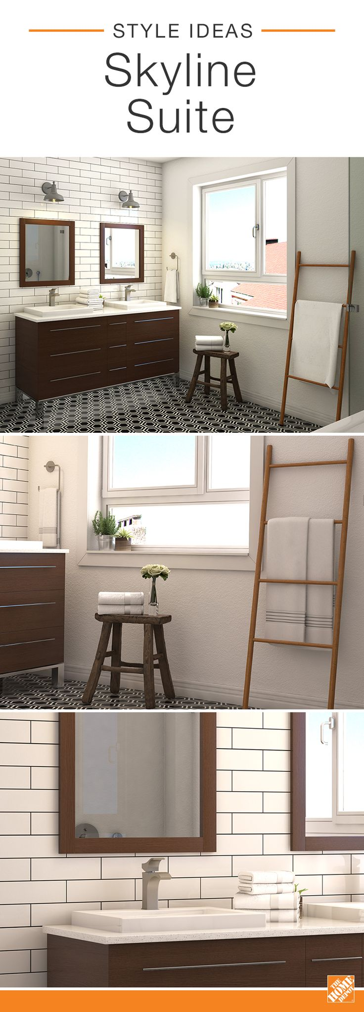 shop our decor department to customize your skyline suite today at the home depot - Home Depot Bathroom Design Ideas