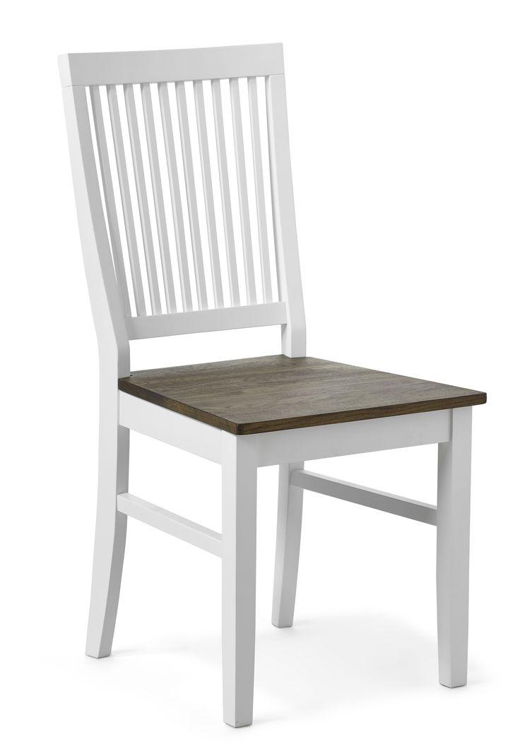En prisvärd klassisk stol i massivt trä som bara blir vackrare med åren. Läckö finns både med träsits och klädd sits i konstläder. Den raka skandinaviska stilen ger ett okomplicerat och hemtrevligt intryck kring matbordet och inbjuder till många sköna matstunder.