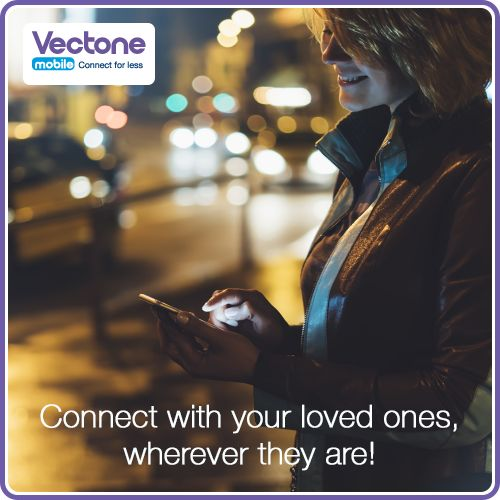 Our cheap rates for calls, texts and data ensure that you are always in touch with your friends and family.
