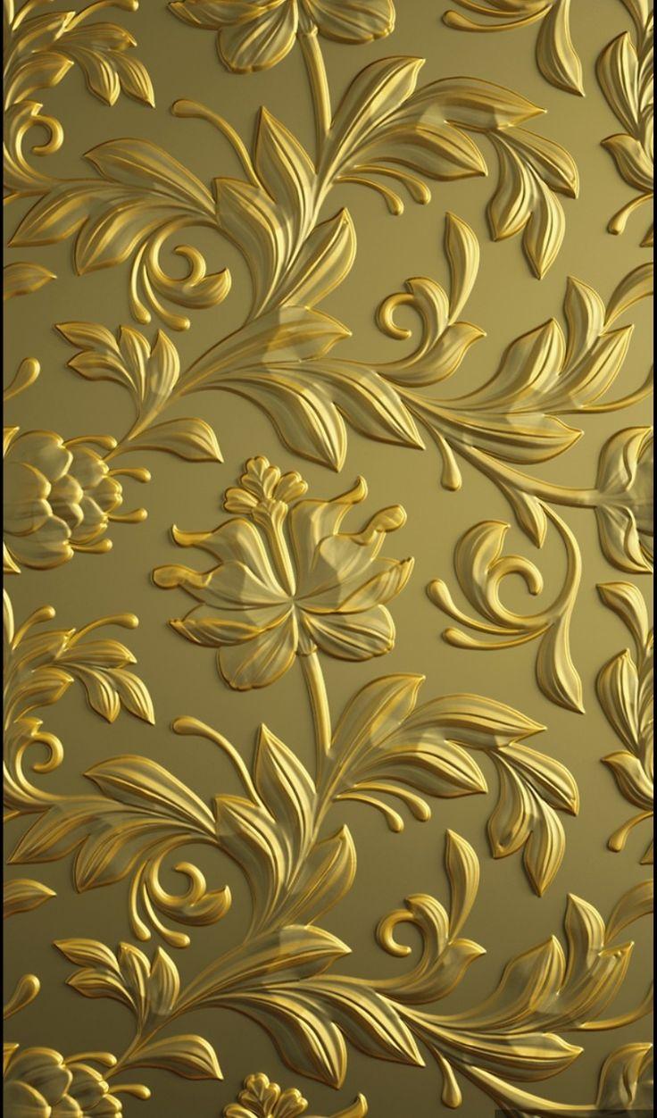 Wallpaper Patterns Backgrounds Iphone Wallpapers Golden Vintage Nice Photos Gold Pattern Hare Krishna Yo