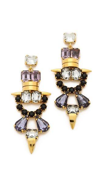 Lizzie Fortunato Till Dawn Earrings