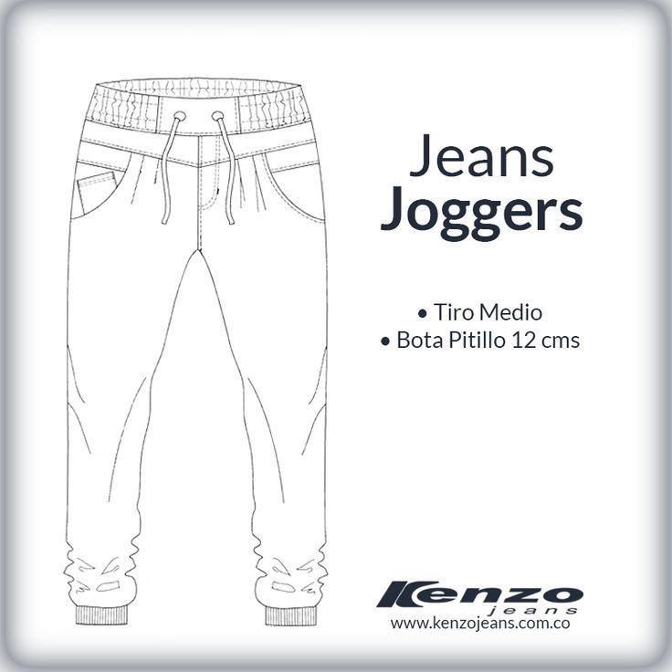 Unos jeans muy urbanos, perfectos para los fines de semana, son sinónimo de un look relajado pero con mucho estilo. #KenzoJeans www.kenzojeans.com.co/fits/