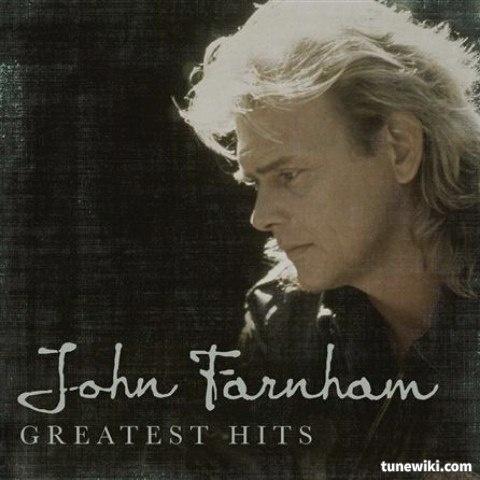 -- #LyricArt for A Touch Of Paradise by John Farnham