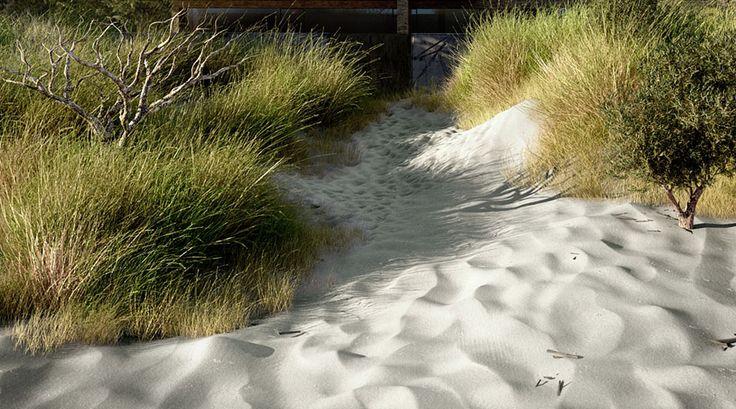 Baltic Sea House Grass and Sand