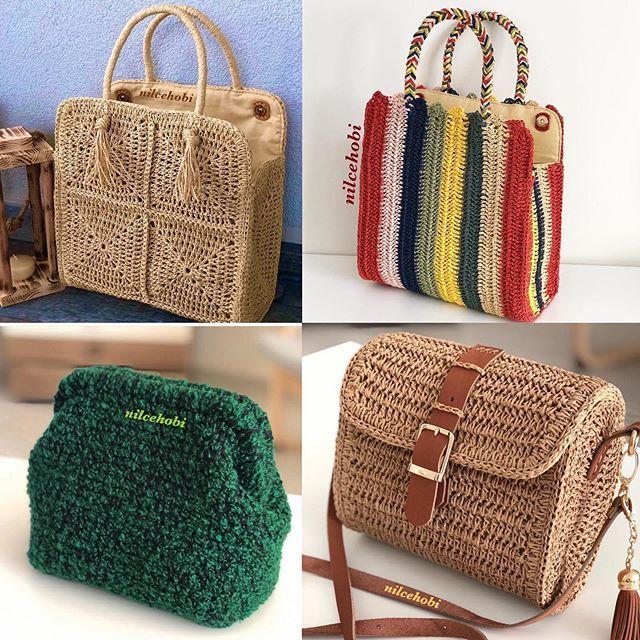 Nil Ce Hobi Nilcehobi Photos Et Videos Instagram Crochet Handbags Crochet Bag Handbag